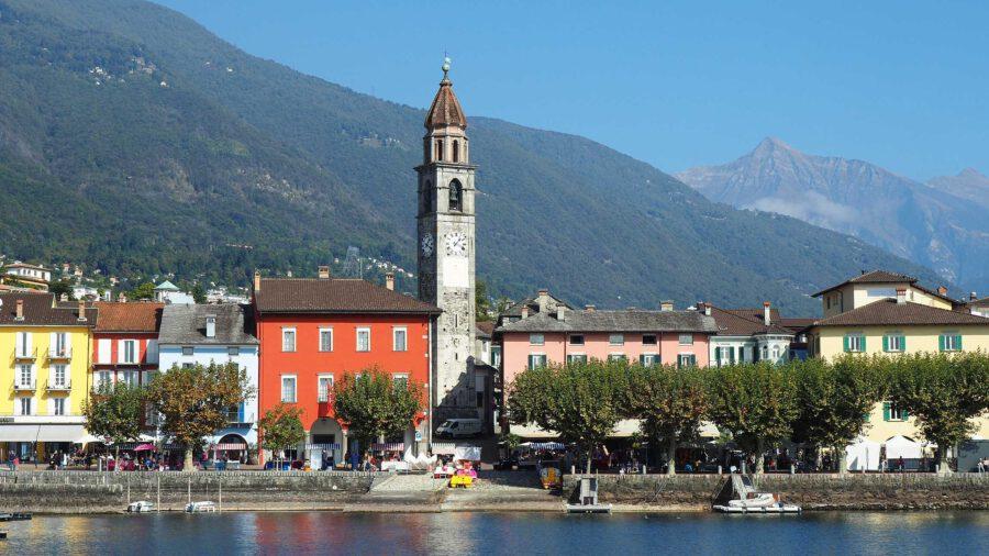 Uferpromenade von Ascona